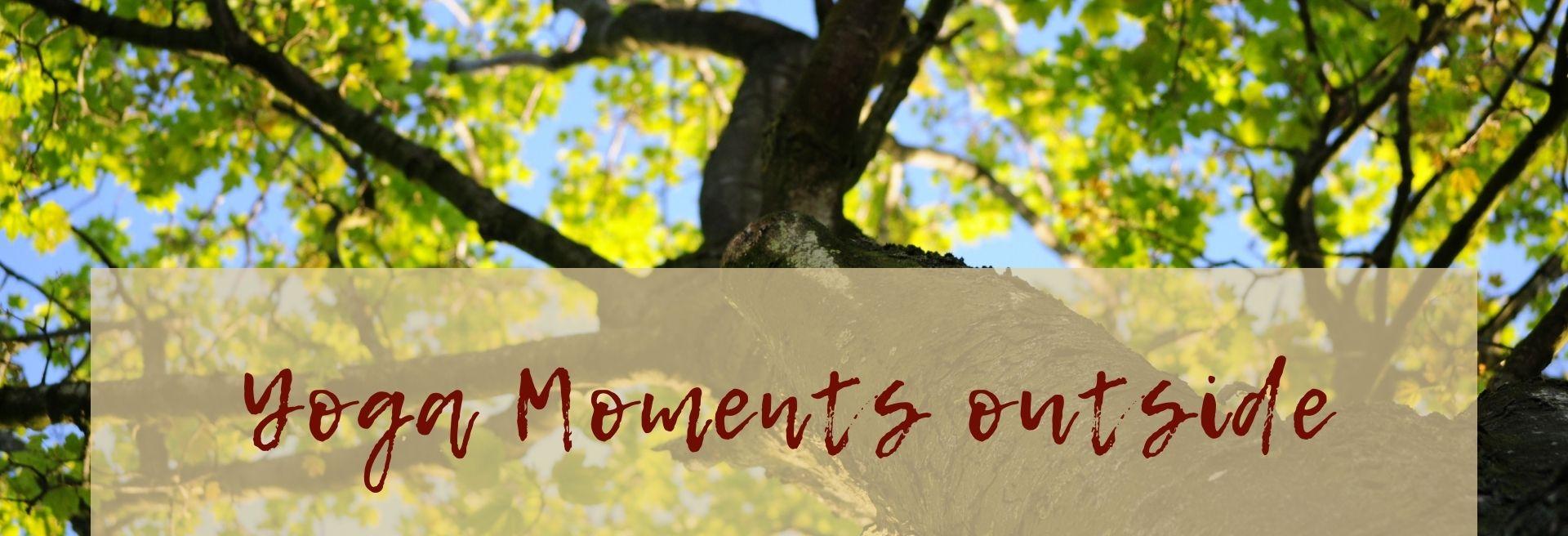 Yoga Moments outside